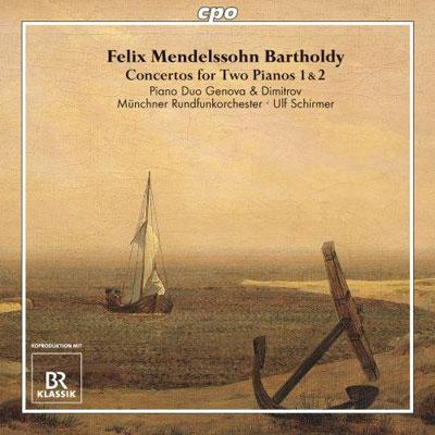 Felix Mendelssohn Bartholdy: Konzerte für zwei Klaviere (c) cpo