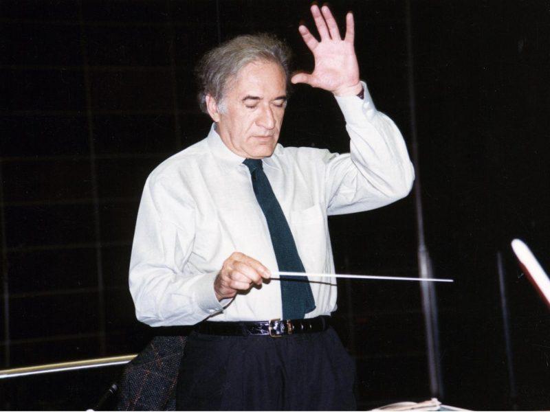 Guiseppe PatanŽé (Chefdirigent des Münchner Rundfunkorchesters 1988 bis 1989). Credit BR / Foto Sessner