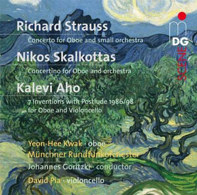 Strauss, Skalkottas: Oboenkonzerte