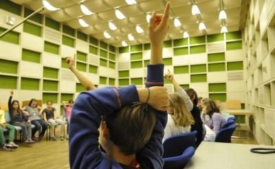 Instrumenteneinführung für Schulklassen durch Mitglieder des Münchner Rundfunkorchesters (c) BR/Annette Goossens